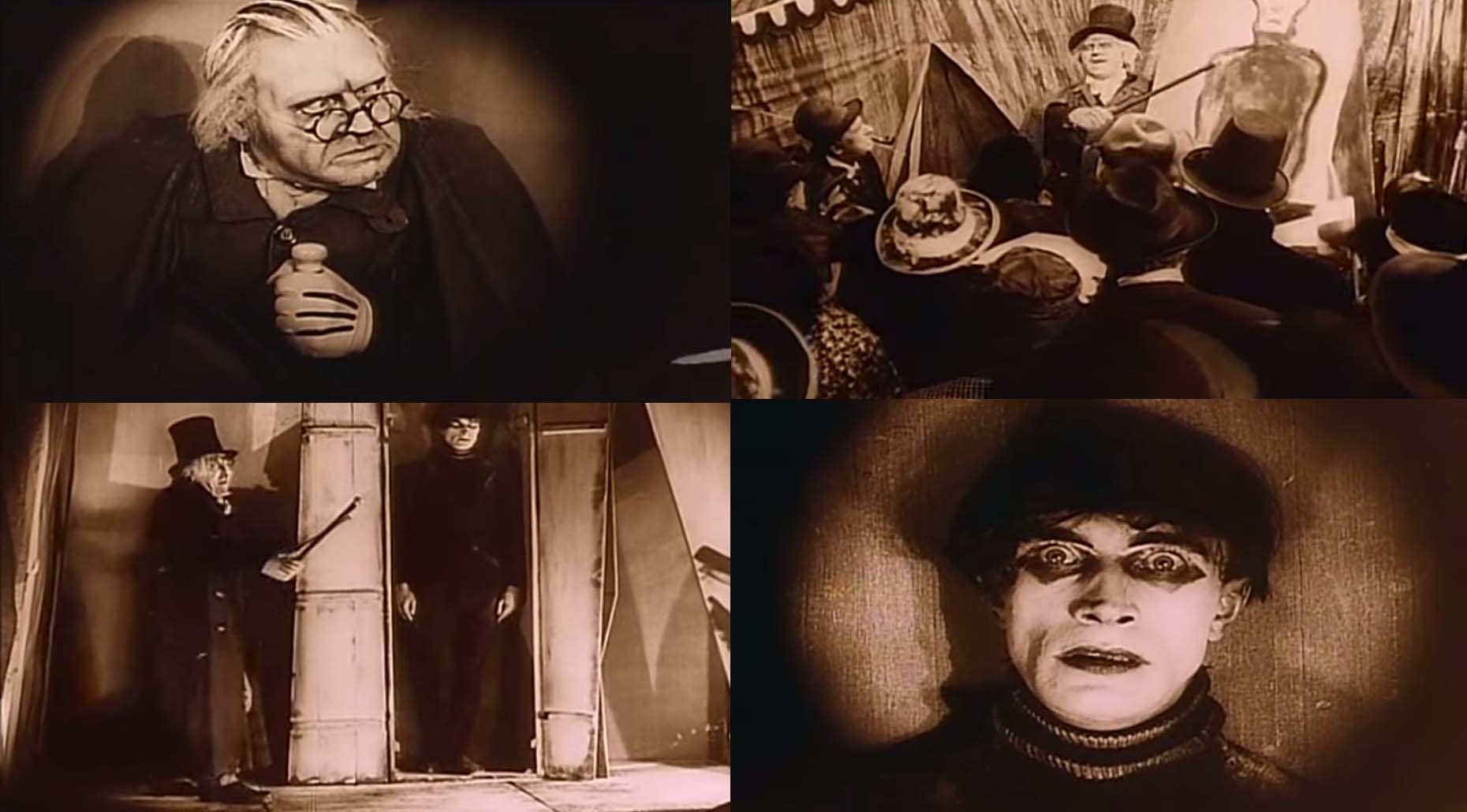 The cabinet of dr caligari moshpits and movies - The cabinet of dr caligari cesare ...