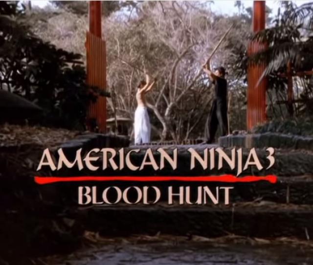 American Ninja 3 Blood Hunt