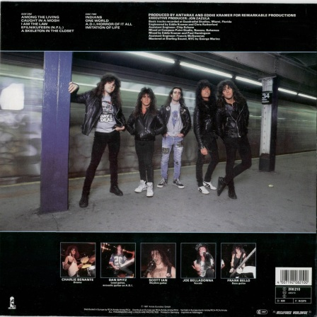 Anthrax_1987_Among the living_2