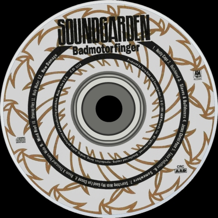 Badmotorfinger cd