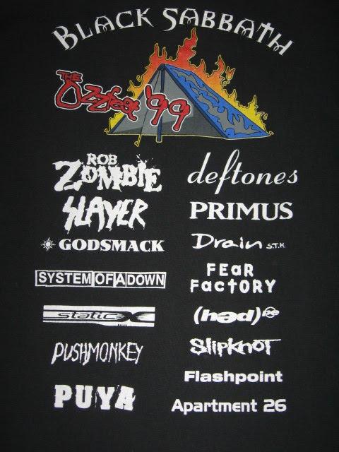 Ozzfest 1999 2 back