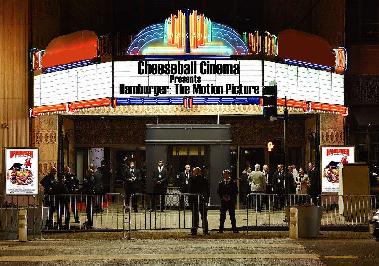 cheeseball cinema hamburger the motion picture