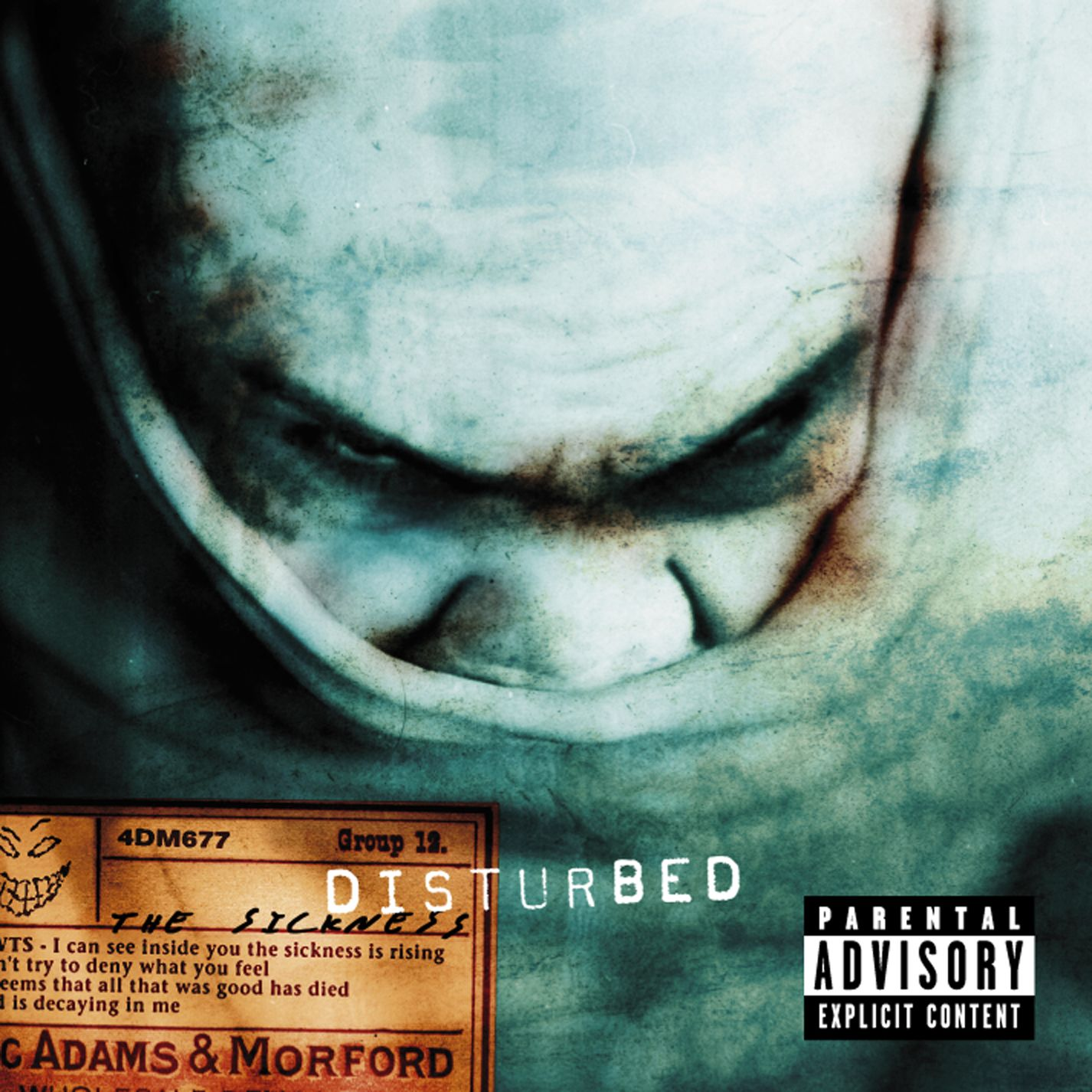 Album Of The Week The Sickness By Disturbed Moshpits