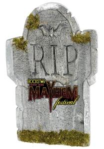mayhem fest tombstone