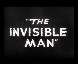 invisble man