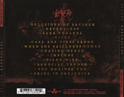 repentless back cover
