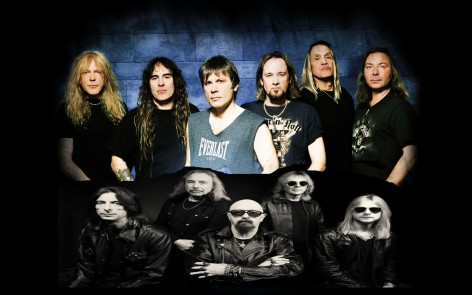 iron maiden vs Judas Priest