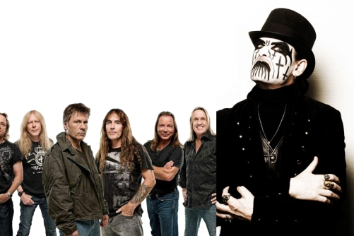 king diamond iron maiden