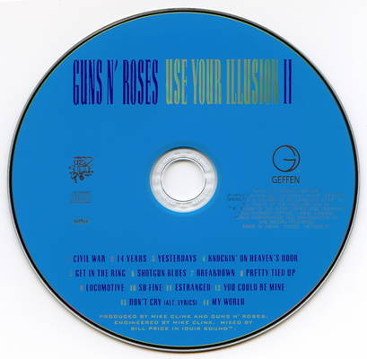 Use Your Illusion 2 CD