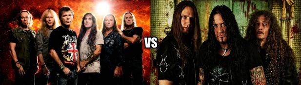 iron maiden vs destruction