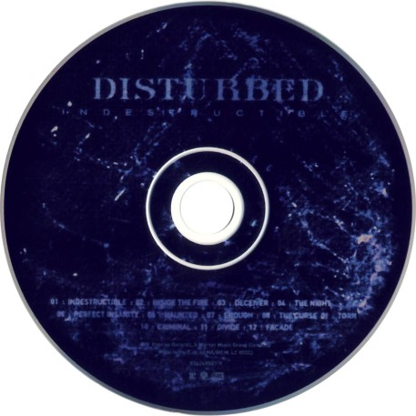 Disturbed-Indestructible-CD