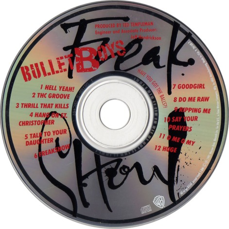 bulletboys-freak_show-cd