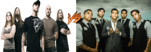 all that remains vs upon a burning body