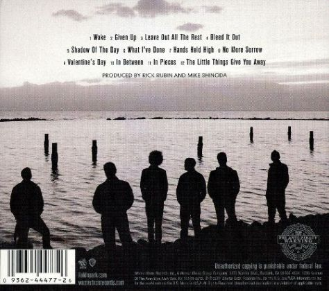 minutes to midnight back cover