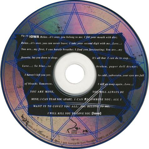 Slipknot-Iowa-CD