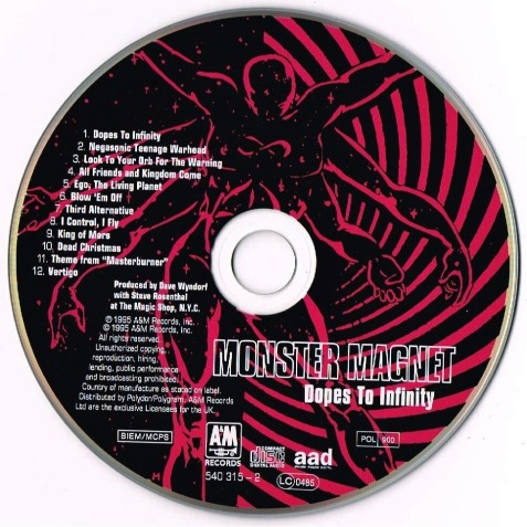 dopes to infinity CD
