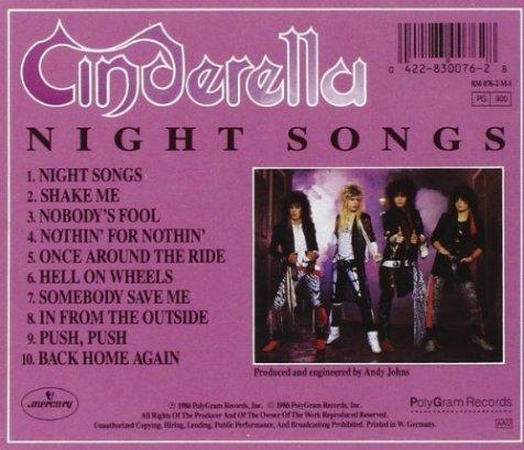 night songs back