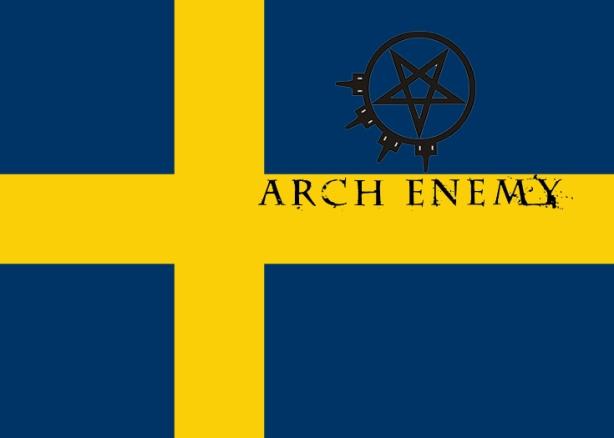 sweden arch enemy