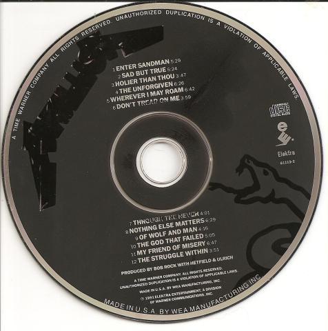 Metallica - Metallica -cd-