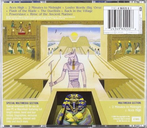 powerslave back