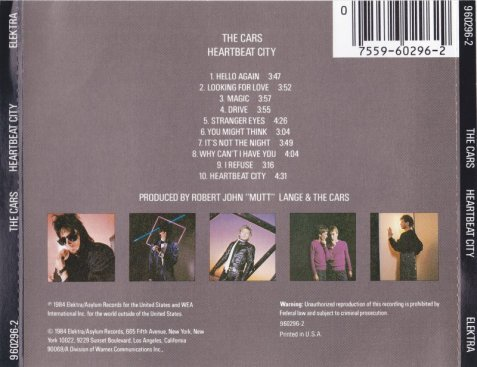 the-cars-heartbeat-city-6-cd
