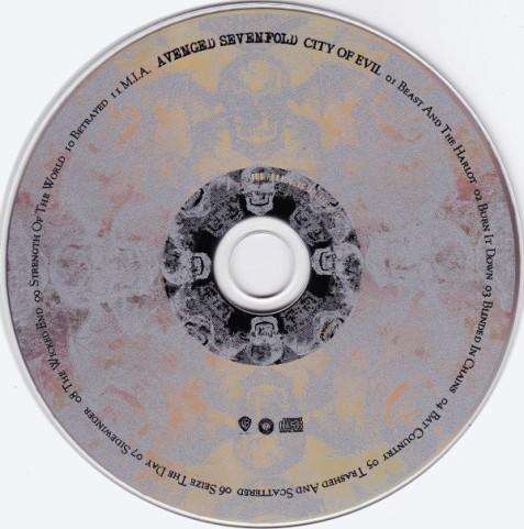 Avenged Sevenfold - City of Evil (2005) (CD, Album)